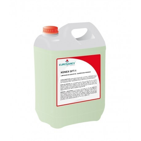 KENEX GFT-1 GRAFFITIS. LIMPIADOR SUPERFICIES POROSAS. 5L