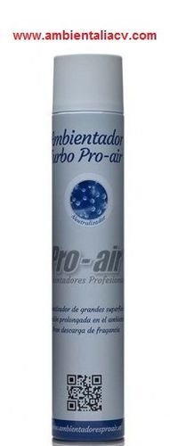 AMBIENTADOR AEROSOL TURBO PRO AIR 750 ML