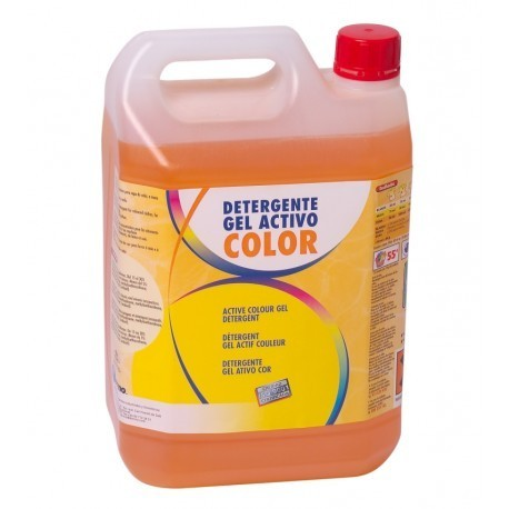 GEL ACTIVO COLOR ENVASE 5L (ROPA DE COLOR)