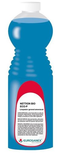 NETTION BIO ECO-P - LIMPIADOR GENERAL BIOALCOHOL - 1L